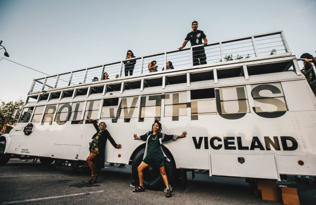 The Viceland Party Bus