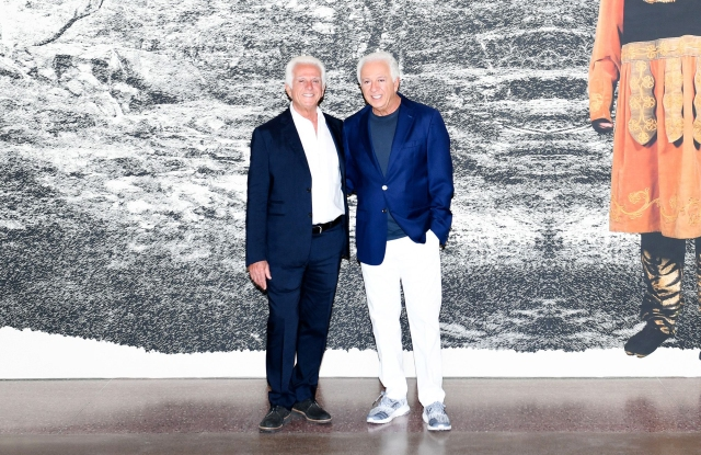 Maurice Marciano, Paul MarcianoMarciano Art Foundation Opening Night, Los Angeles, USA - 20 May 2017