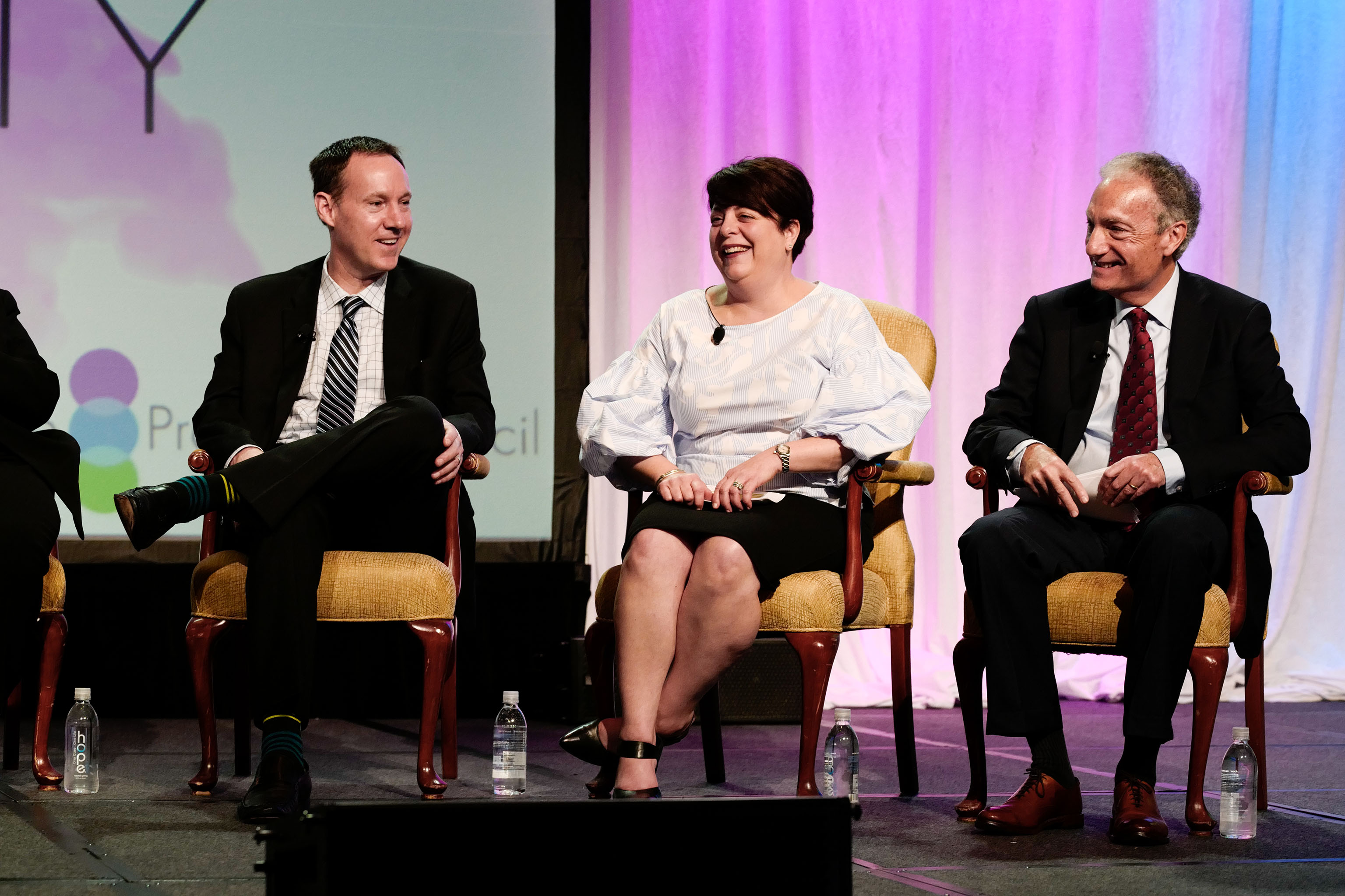 Tom Myers, Lisa Powers, and Mark Pollak