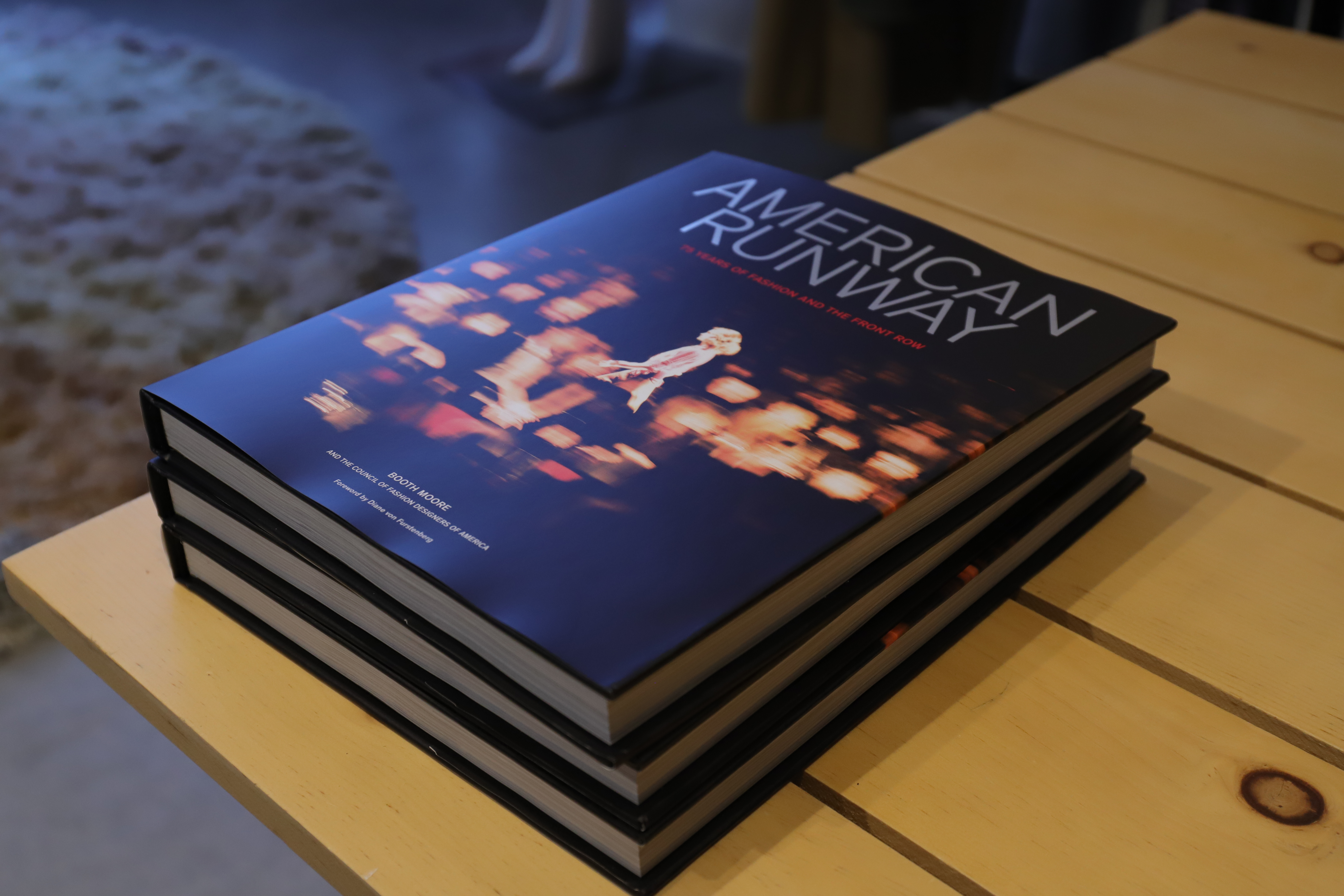 """Booth Moore """"American Runway"""" Book Signing"""