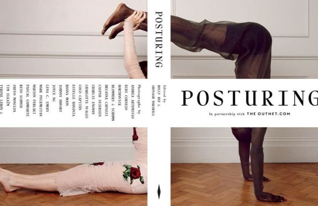 """The cover of """"Posturing"""""""