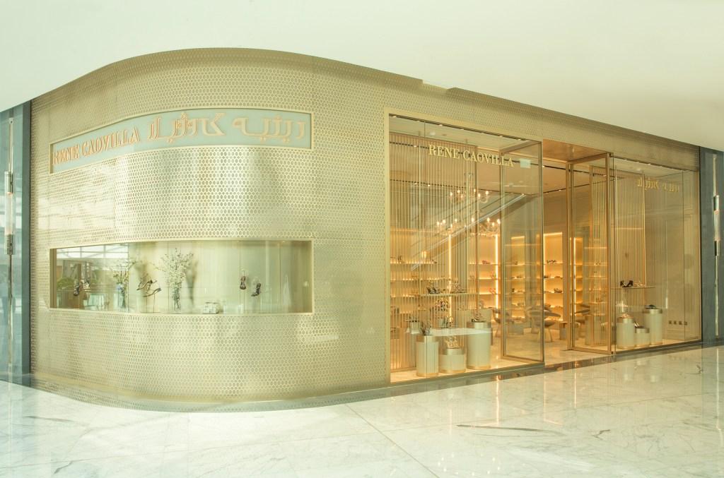 Rene Caovilla flagship in Dubai