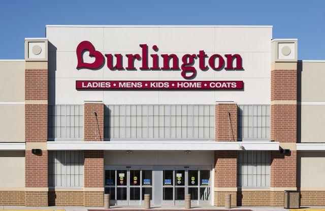 Burlington Coat Factory store exterior, Mt, Laural, New Jersey, USAVarious, America