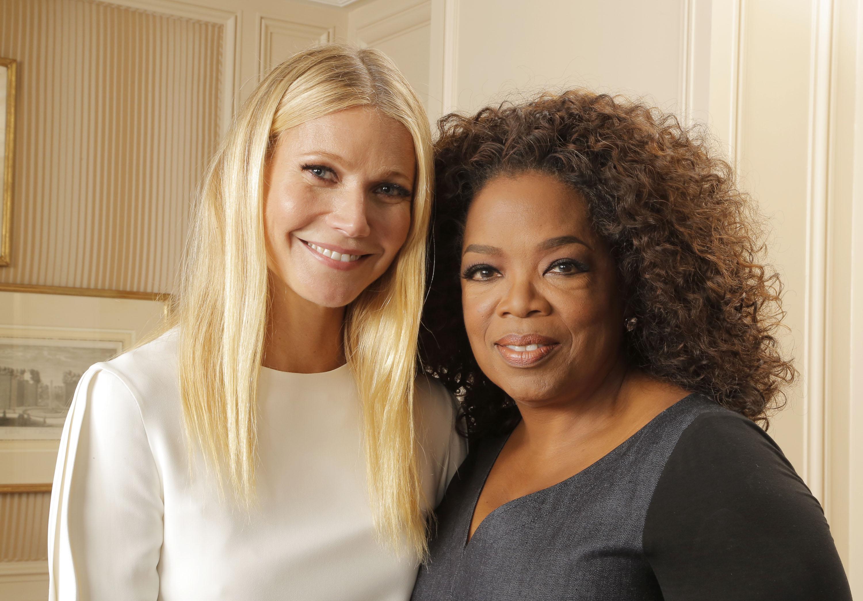 Gwyneth Paltrow, Oprah WinfreyVariety's Power of Women, Roaming Arrivals, Los Angeles, America - 09 Oct 2015