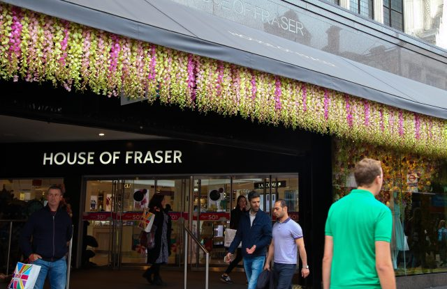 British department store House of Fraser.