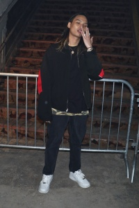 Keith Ape in the front rowAlexander Wang show, Fall Winter 2017, New York Fashion Week, USA - 11 Feb 2017