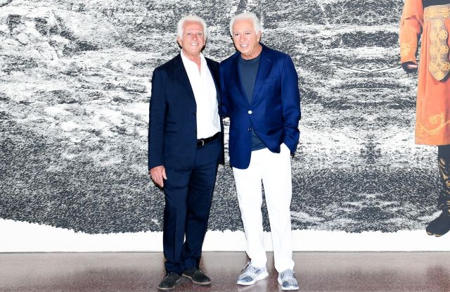 Maurice and Paul Marciano