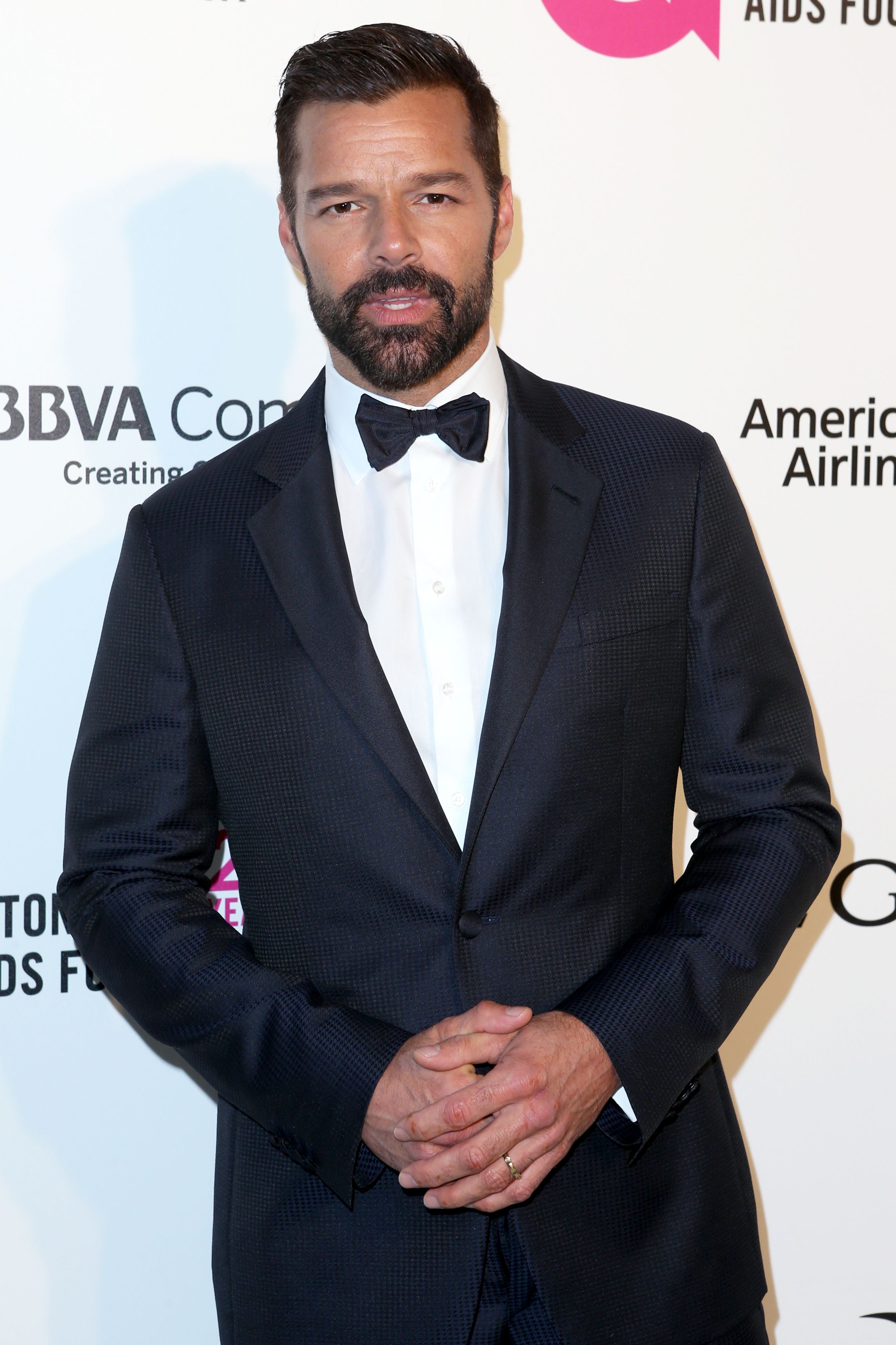 Ricky Martin Elton John AIDS Foundation Academy Awards Viewing Party, Arrivals, Los Angeles, USA - 04 Mar 2018