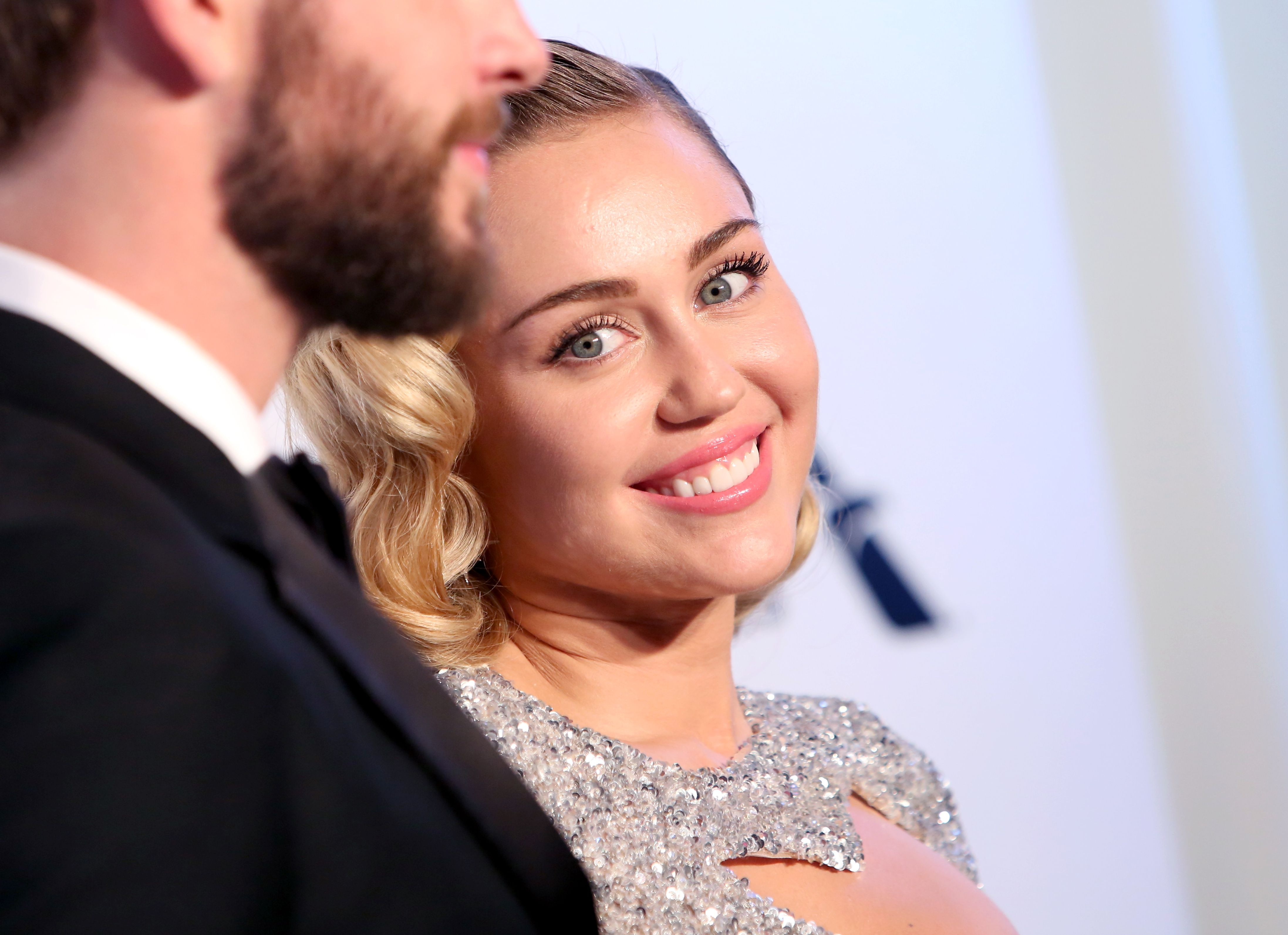 Miley Cyrus Elton John AIDS Foundation Academy Awards Viewing Party, Arrivals, Los Angeles, USA - 04 Mar 2018