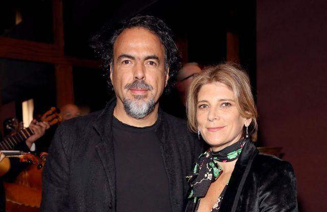Alejandro Gonzalez Inarritu and Maria Eladia HagermanChanel and Charles Finch Pre-Oscar dinner, Inside, Los Angeles, USA 03 Mar 2018