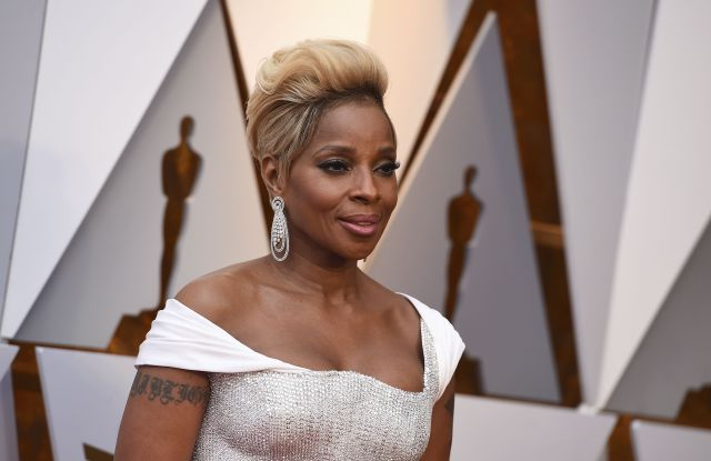Mary J. Blige arrives at the Oscars, at the Dolby Theatre in Los Angeles90th Academy Awards - Arrivals, Los Angeles, USA - 04 Mar 2018