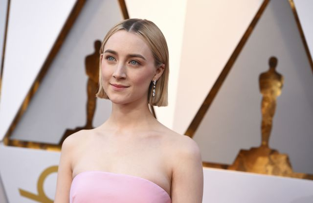 Saoirse Ronan arrives at the Oscars, at the Dolby Theatre in Los Angeles90th Academy Awards - Arrivals, Los Angeles, USA - 04 Mar 2018