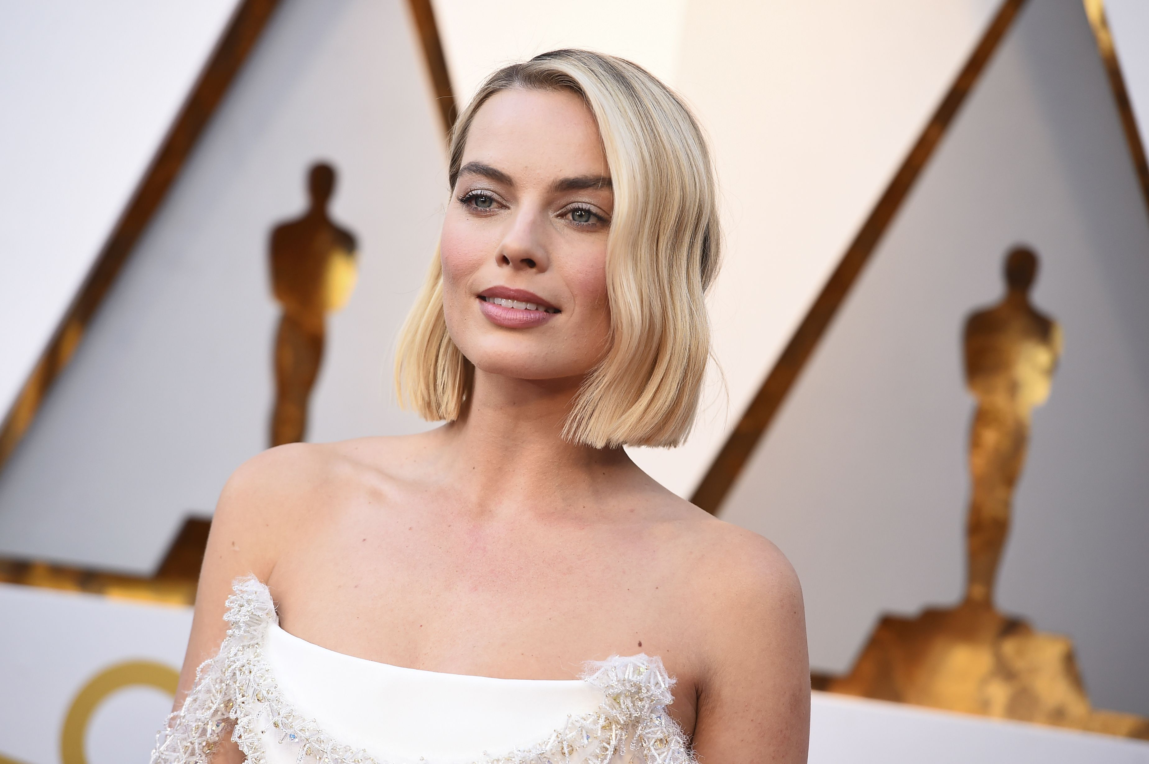 Margot Robbie arrives at the Oscars, at the Dolby Theatre in Los Angeles90th Academy Awards - Arrivals, Los Angeles, USA - 04 Mar 2018