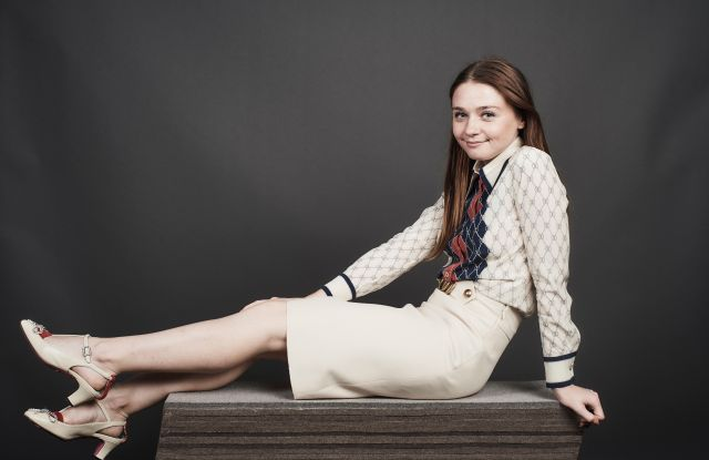Jessica Barden of 'The New Romantic'Deadline Studio Portraits at SXSW Presented by MoviePass, Day 2, Austin, USA - 10 Mar 2018