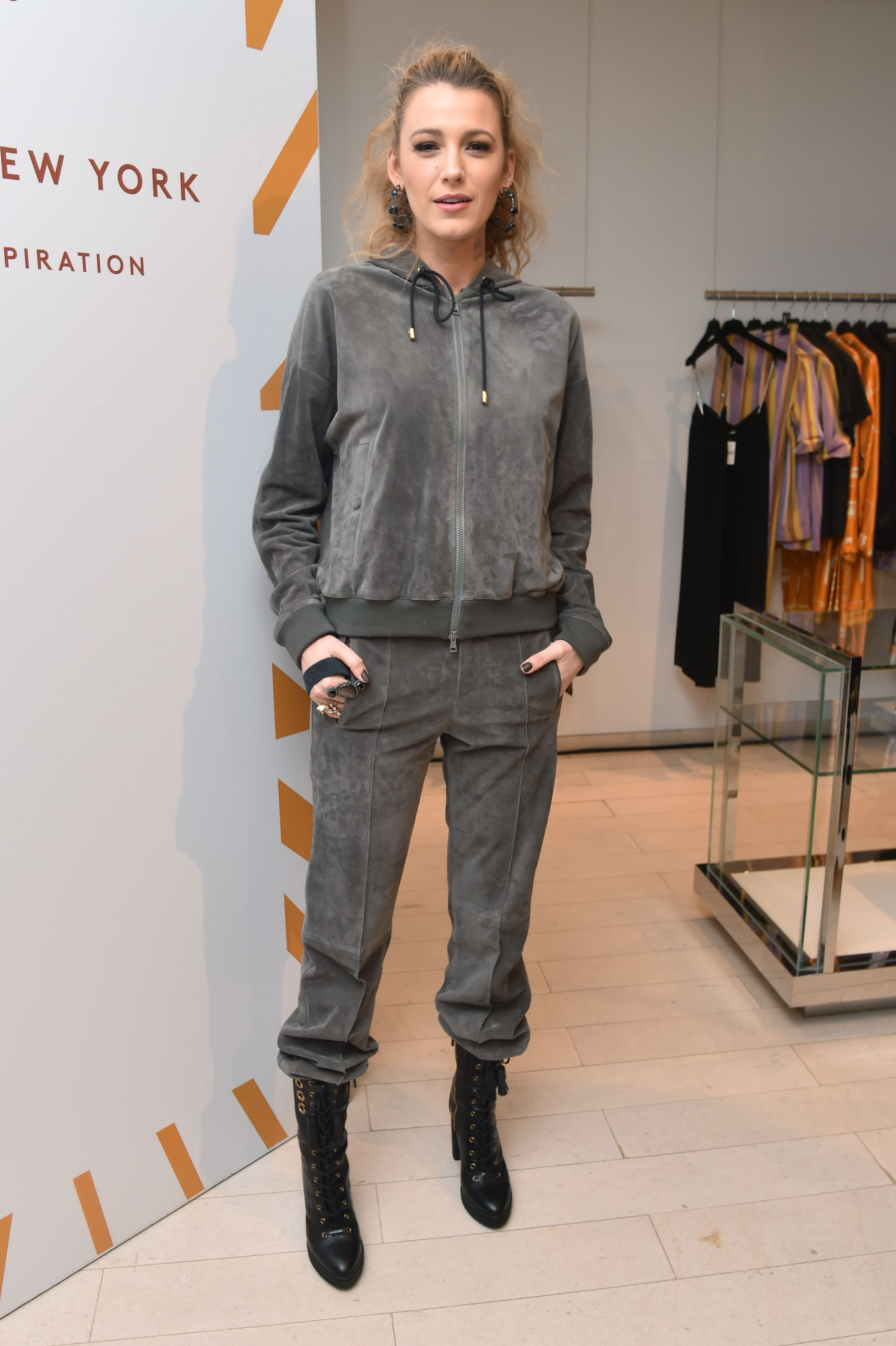 Blake LivelyBarneys New York celebrates the launch of Tod's Capsule Collection, New York, USA - 15 Mar 2018