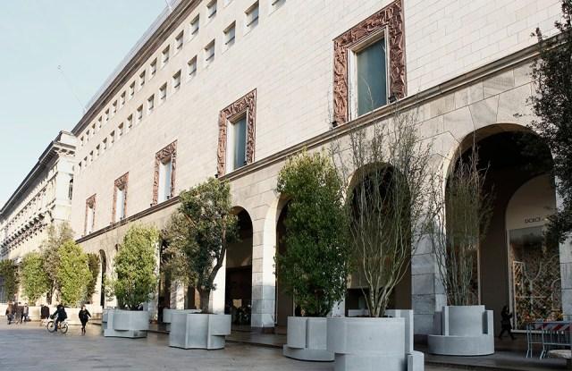"""Rinascente Duomo Milano's """"The Green Life"""""""