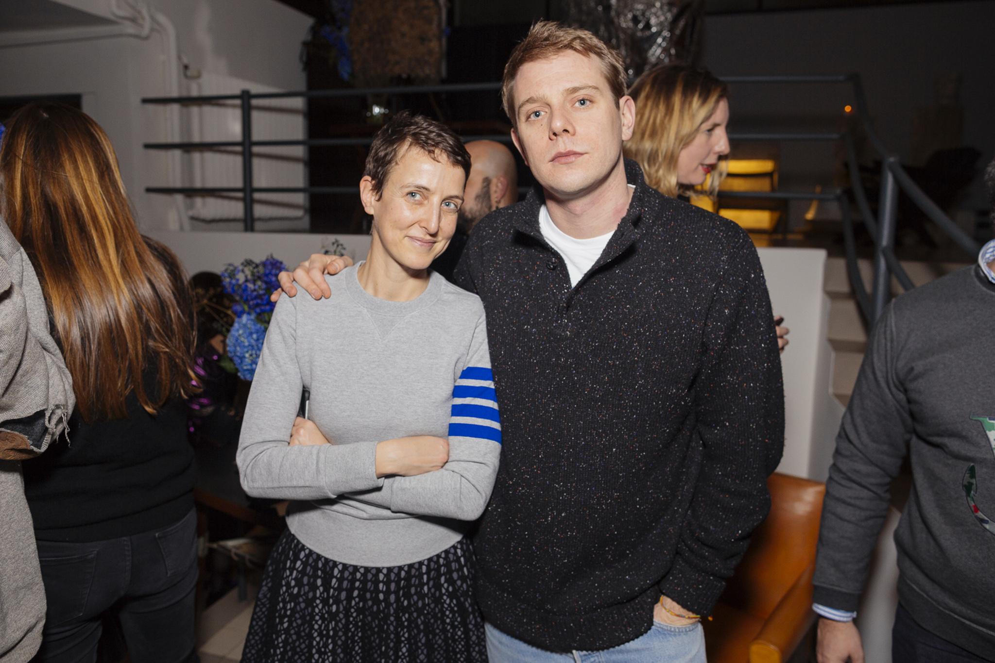 Sarah Andelman and Jonathan Anderson