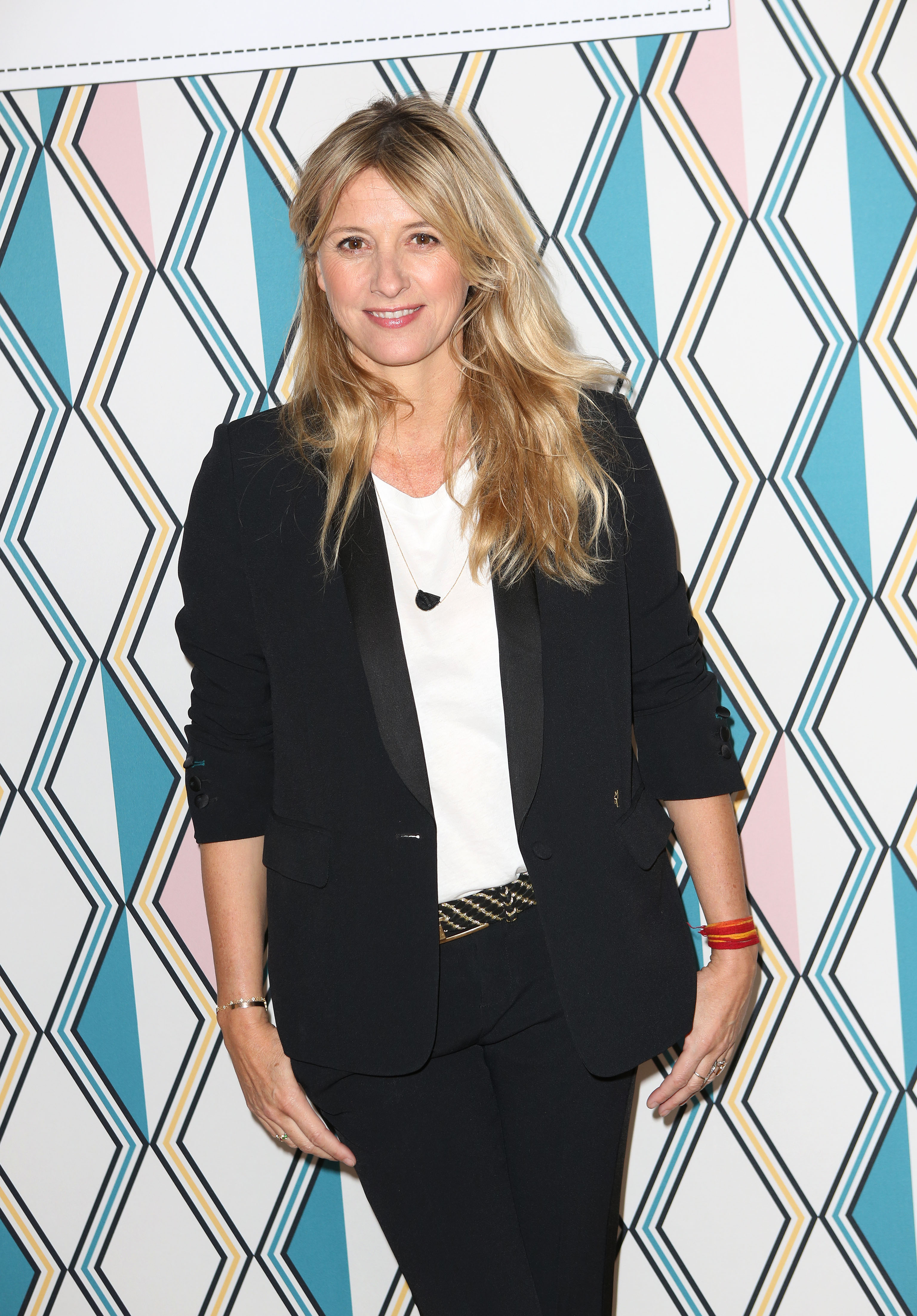 Sarah Lavoine at the launch of her collection for Lancel