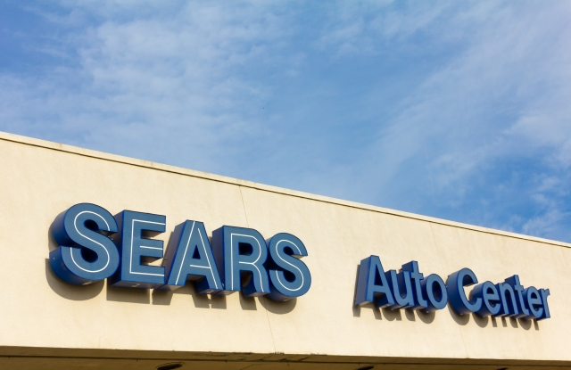Sears is selling four Sears stores, and 4 adjacent Sears Auto Center locations.