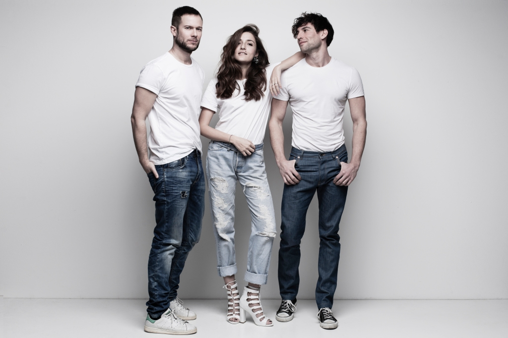 The Grumble Creative's team: Paolo Stella, Eleonora Carisi and Ivano Marino.