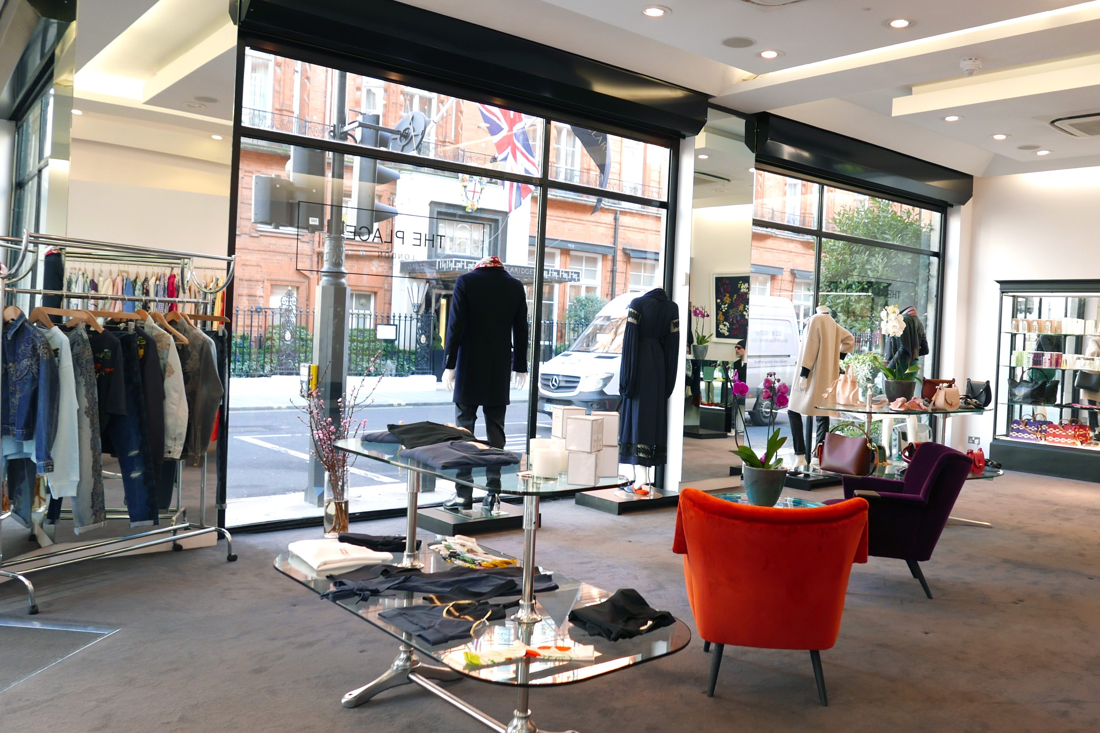 A view of the new store The Place by Simon Burstein