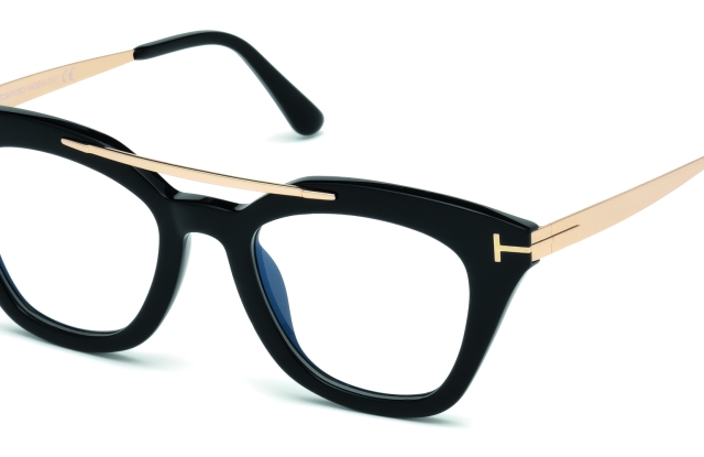 Tom Ford eyewear, produced in partnership with Marcolin.
