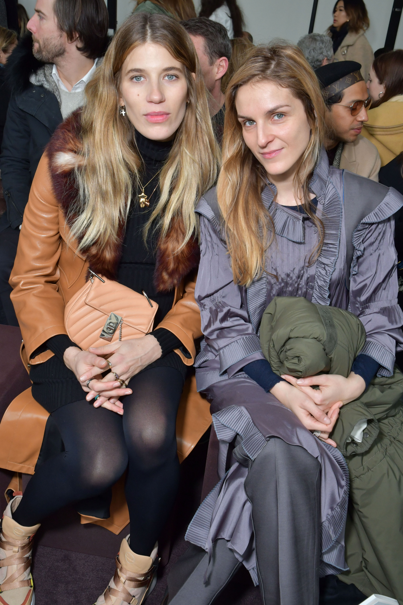 Veronika Heilbrunner and Gaia Repossi