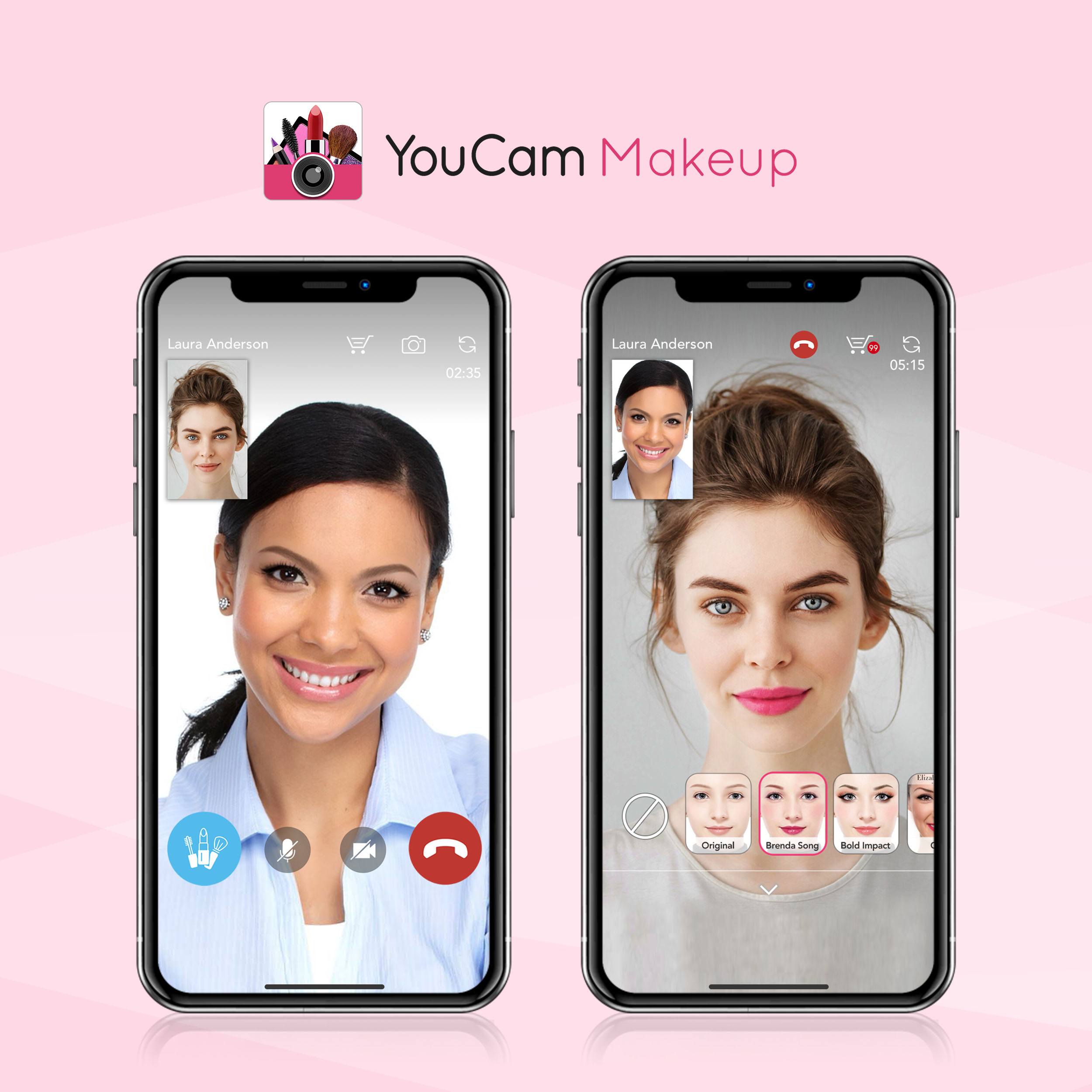 youcam perfect corp ar augmented reality cosmetics technology