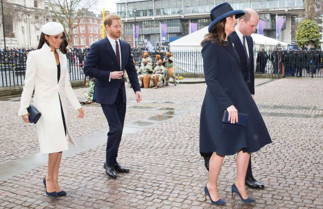 Meghan Markle, Prince Harry, Catherine Duchess of Cambridge and Prince WilliamCommonwealth Day observance service, Westminster Abbey, London, UK - 12 Mar 2018