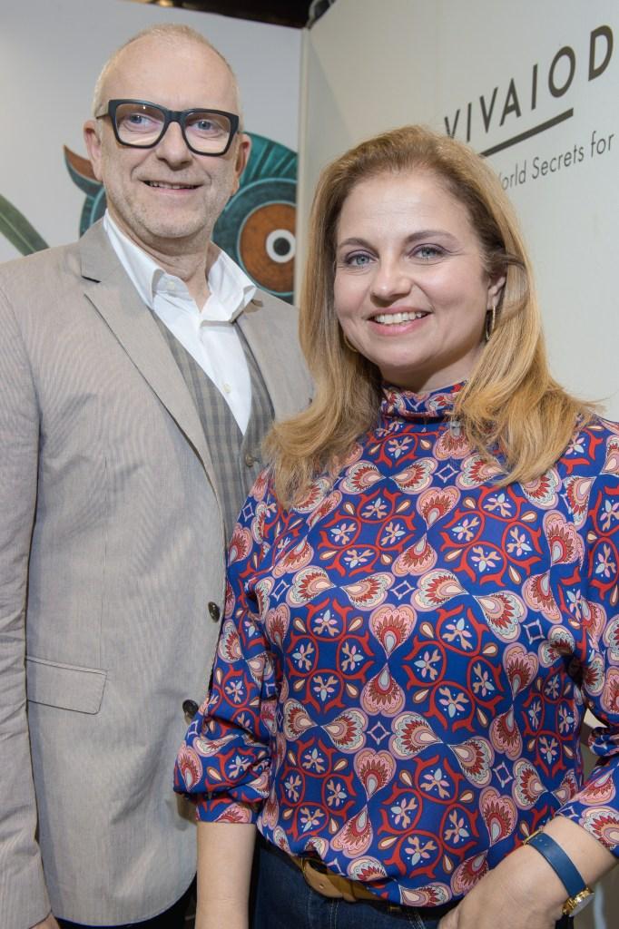 Vivaio Days founders Marios Stamatelopoulos and Elina Lampaki.