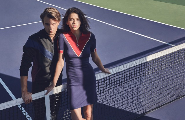 Looks from Tretorn's new capsule lines.