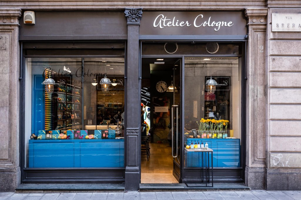 Atelier Cologne store in Milan.