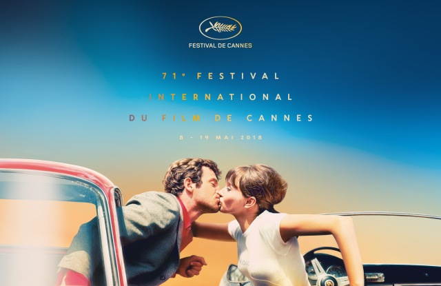 This year's poster for the Cannes International Film Festival.