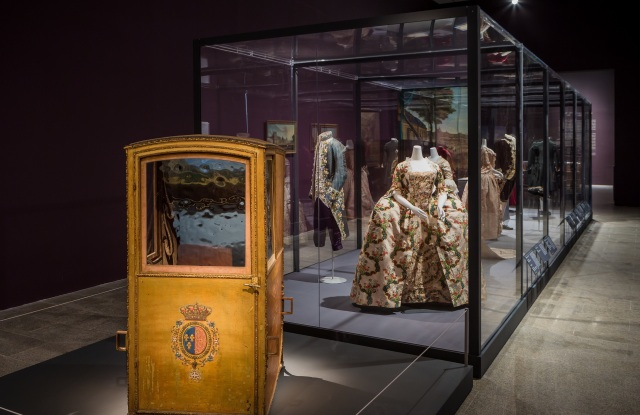 'Visitors to Versailles' is on view through July 29.