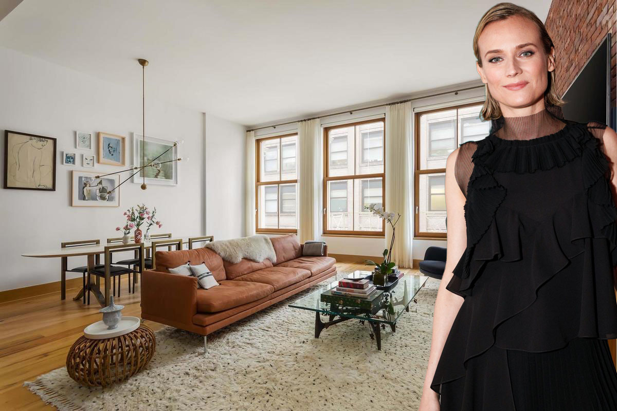 Diane Kruger Is Flipping Her TriBeCa Home