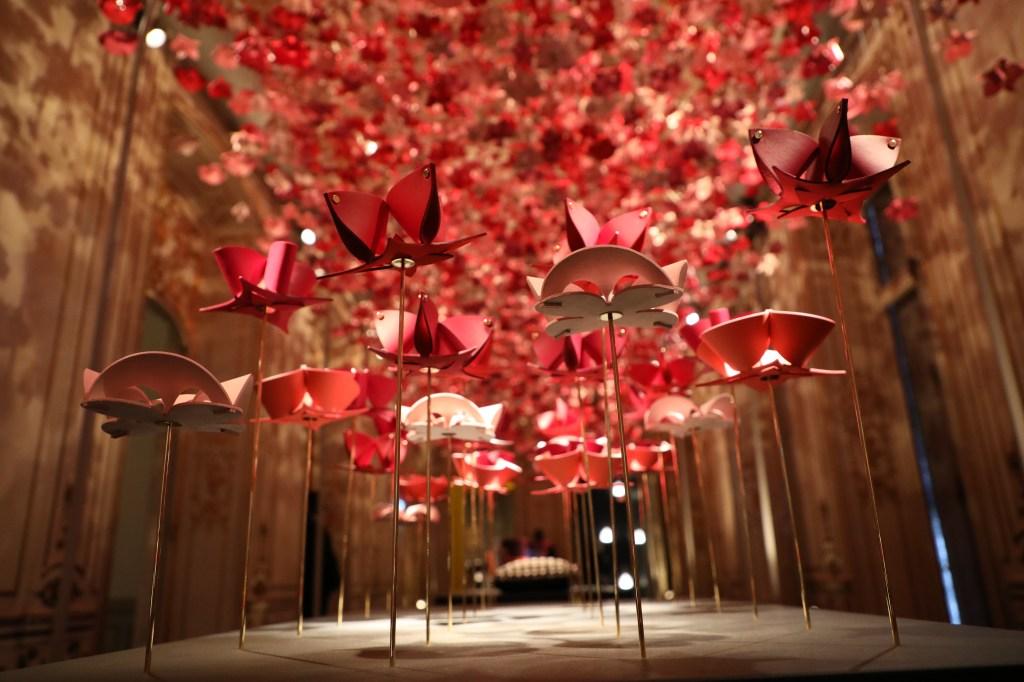 The Louis Vuitton installation at Milan Design Week