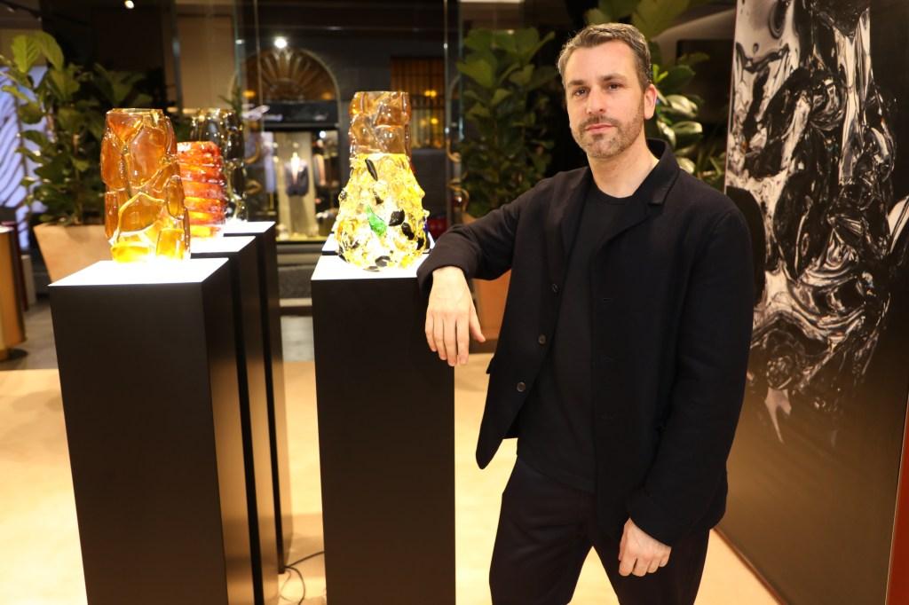 Roberto Cavalli creative director Paul Surridge.