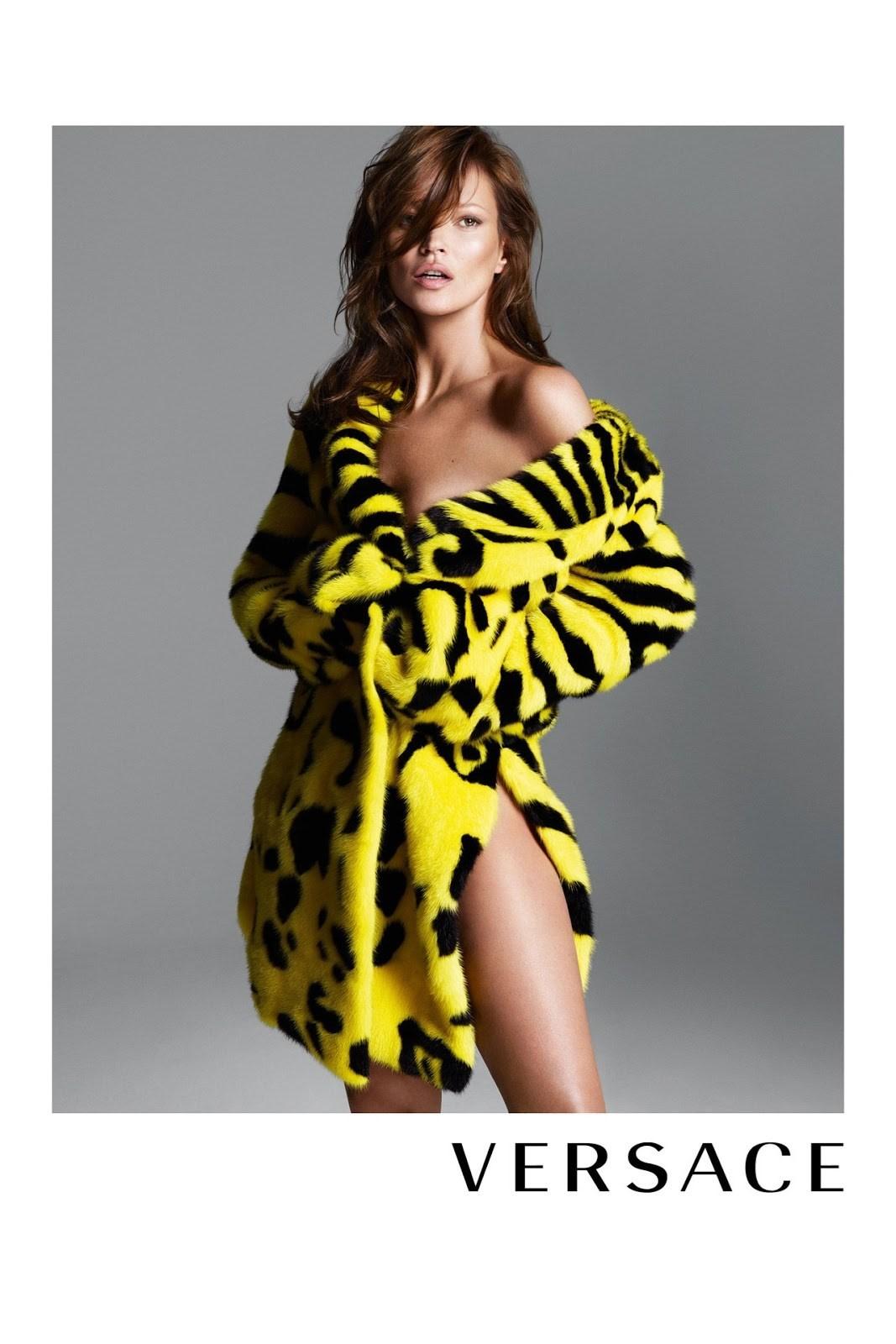 versace fur ad