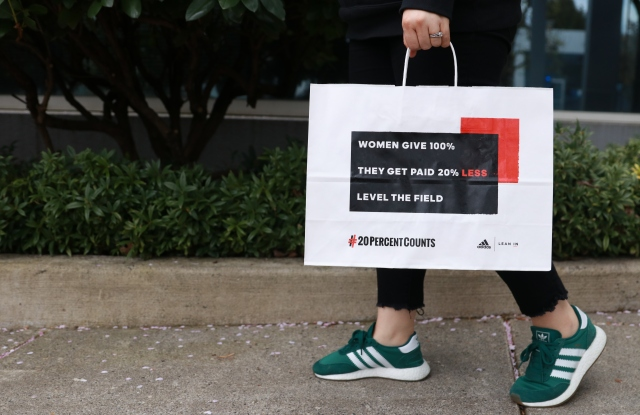 Adidas will promote the initiative on its shopping bags.