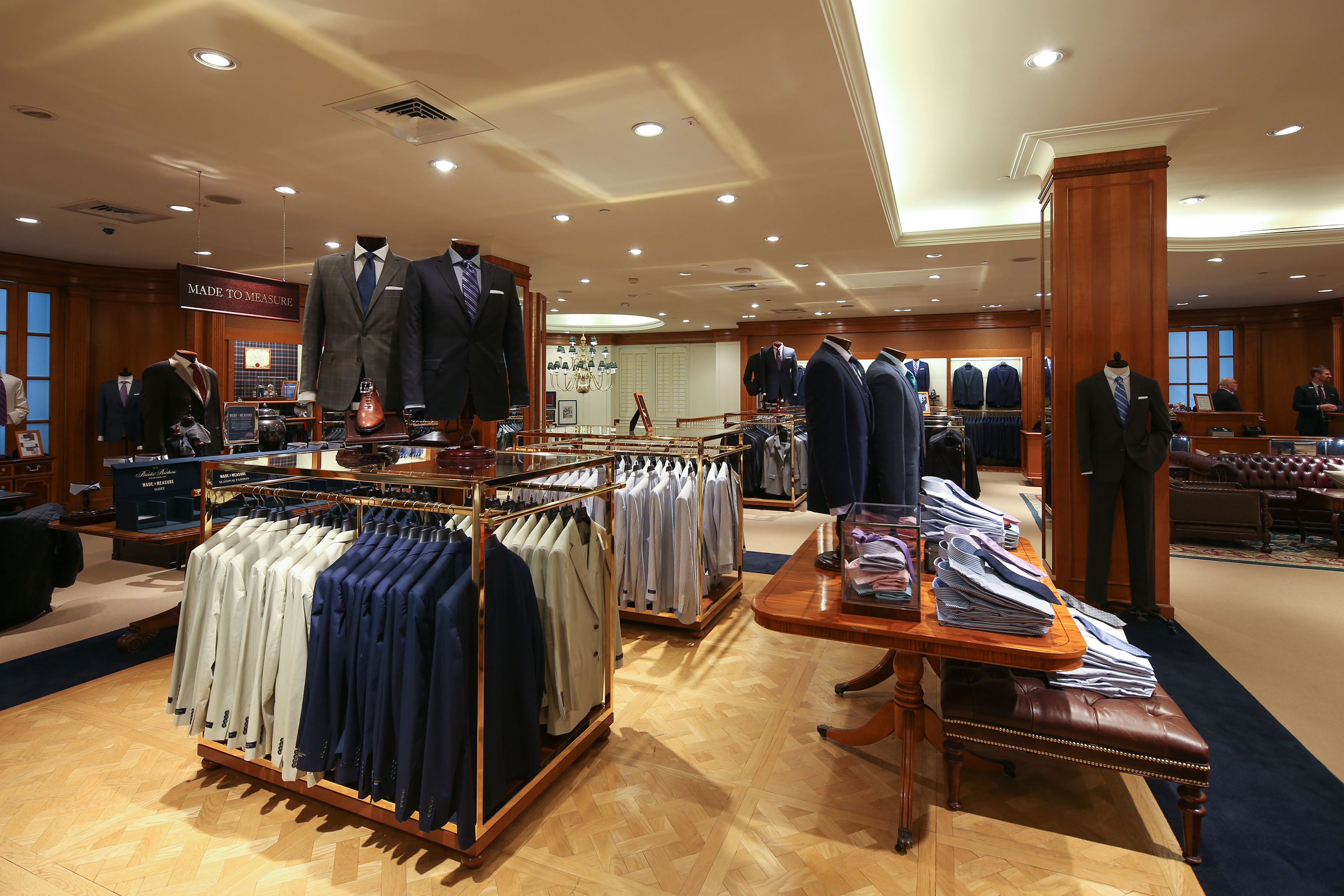 The Brooks Brothers Madison Ave. flagship.