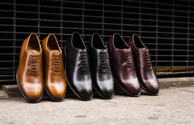 Looks from the Thursday Boots dress shoe collection.