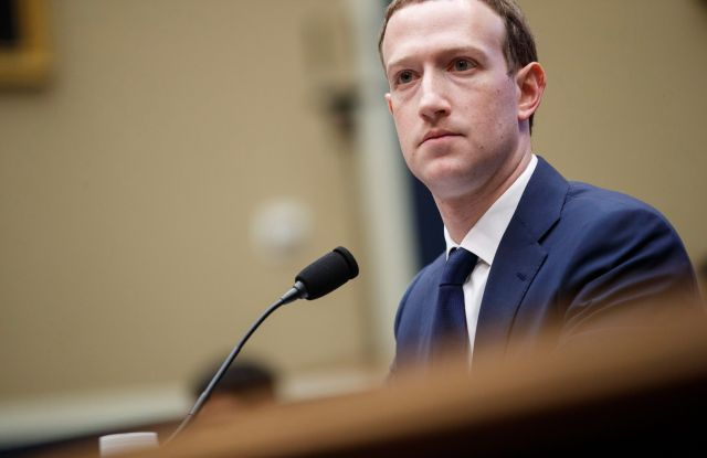 CEO of Facebook Mark Zuckerberg testifies before the House Energy and Commerce Committee hearing on 'Facebook: Transparency and Use of Consumer Data' on Capitol Hill in Washington, DC, USA, 11 April 2018. Zuckerberg is testifying before the second of two Congressional hearings this week regarding Facebook allowing third-party applications to collect the data of its users without their permission and for the company's response to Russian interference in the 2016 US presidential election.CEO of Facebook Mark Zuckerberg testifies before the House of Representatives House Energy and Commerce Committee, Washington, USA - 11 Apr 2018