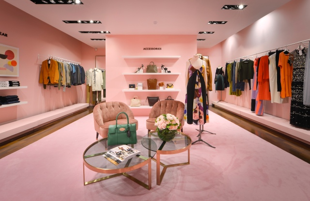 Inside the Fashion Re-Told pop-up by Harrods