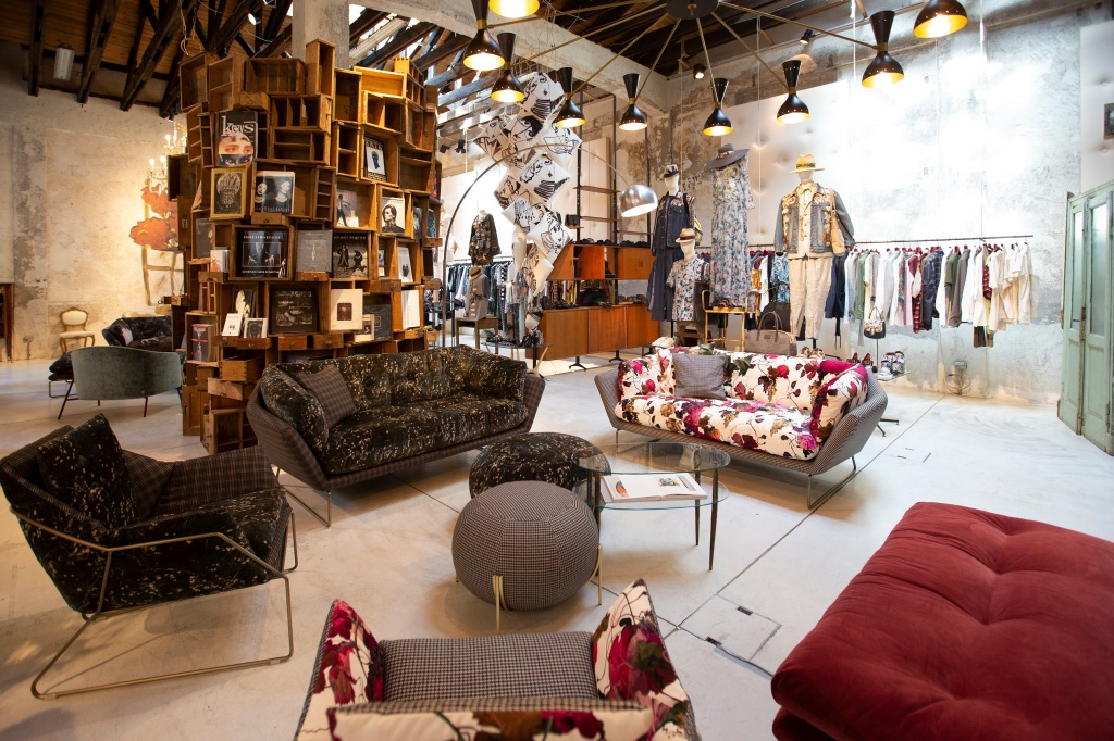 Antonio Marras' Nonostante Marras showroom during Milan Design Week