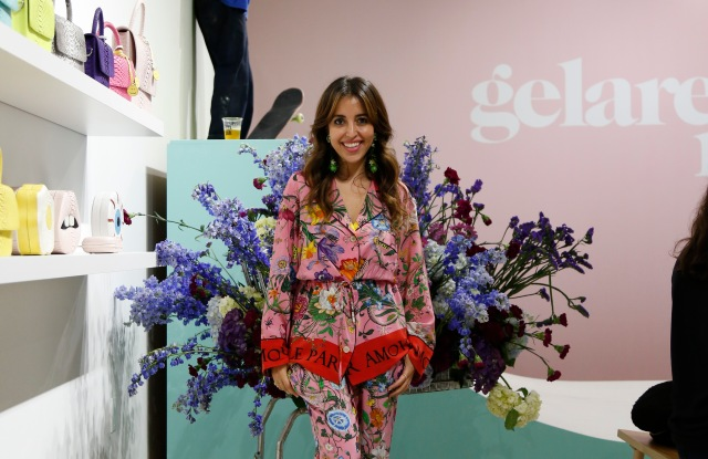 Gelareh Mizrahi in her new store in the Miami Design District.