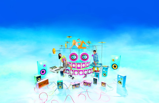 Image for Galeries Lafayette's 'music machines' by Toilet Paper