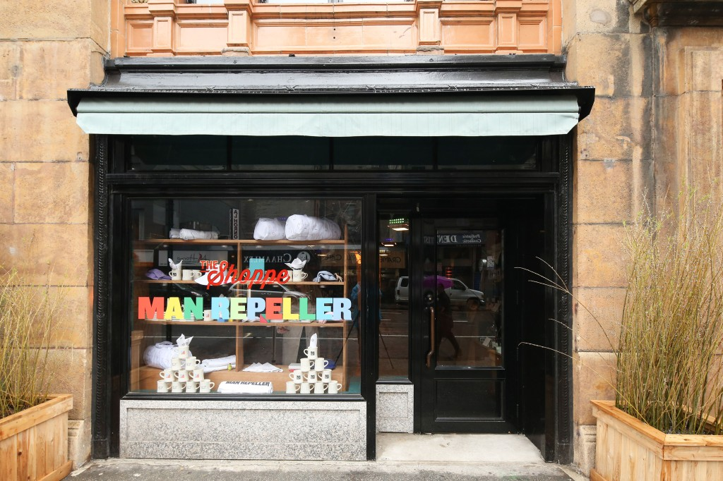 The Hotel Man Repeller pop-up at the Freehand New York.