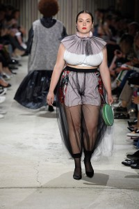 A look by Ester Manas who will create a capsule for Galeries Lafayette.