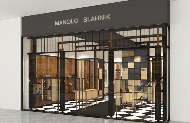 Manolo Blahnik boutique in Singapore