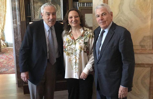 Gilbert Harrison, Marta Alvarez, Jorge Pont